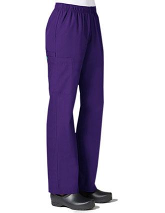 MA-9016-Maevn Core 31 Inch Women's Full Elastic Band Cargo Pant
