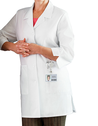 ME-15009-White Swan Meta 35 inch Fundamentals Women Medical Lab Coat