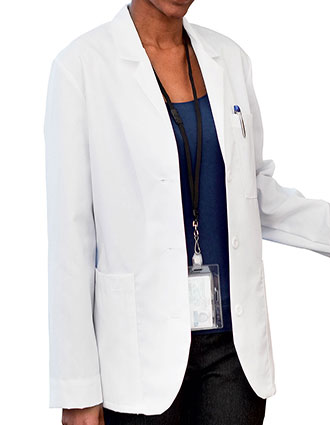 ME-1960T-Meta Women's Multipocket Consultation Tall Lab Coat