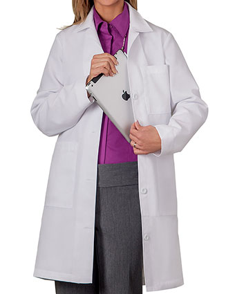 ME-1964T-Meta Women's Multi Pocket Tall Lab Coat