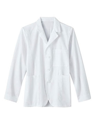 ME-6119-White Swan Meta Seven Pockets Unisex 30 inch Lab Coat