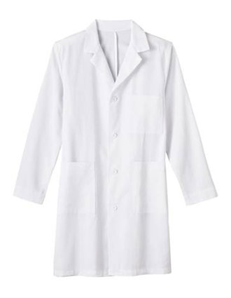 ME-650-White Swan Meta 38 inch White Men Medical Lab Coat