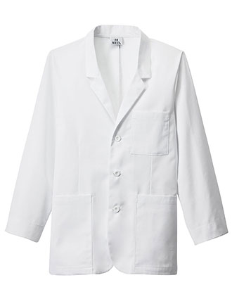 ME-739-Meta Men's 30 Inches 7-Pockets iPad Consultation Lab Coat