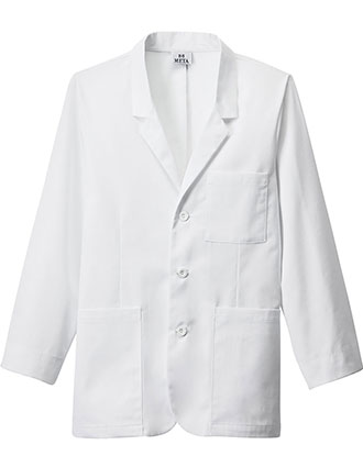 ME-739L-Meta Men's 7-Pockets iPad Consultation Long Lab Coat