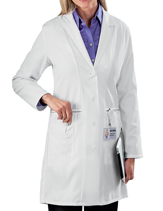 ME-767-White Swan Meta Women 36 Inch Medical Lab Coat