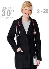 ME-835-Meta Women Stretchable 30 inch Consultation Lab Coat