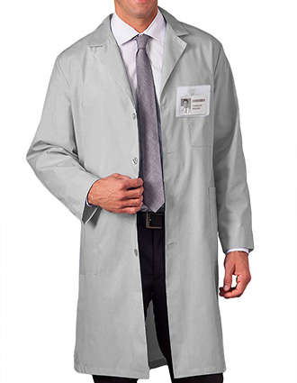 ME-C6116-Clearance Sale! White Swan Meta 40 inch Unisex Colored Medical Lab Coats