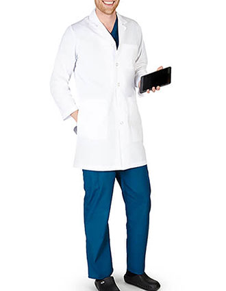 NA-1818-Natural Uniforms 36 Inch Men's IPad Lab Coat