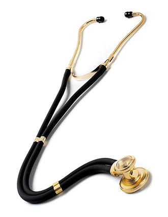 PR-122G-Prestige 30 Inch Sprague Rappaport Stethoscope - Gold Edition