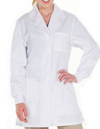PR-5820-Prestige 30.5 Inch Women's Four Pocket Fashion Lab Coats