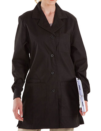 PR-5821-Prestige 30.5 Inches Women's Four Pocket Color Labcoat