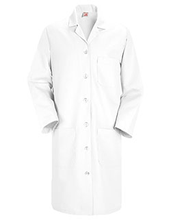 Red Kap 38.25 inch Four Pockets Women Long Medical Lab Coat