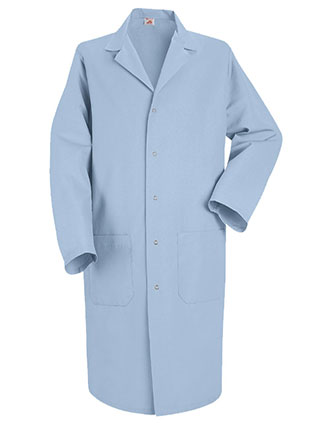RE-KP18LB-Red Kap Mens 41.5 inch Notch Lapel Collar Medical Lab Coat