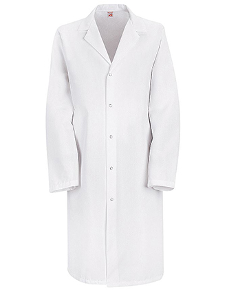 RE-KP38-Red Kap 41.5 inch Pocketless Specialized Unisex Lab Coat