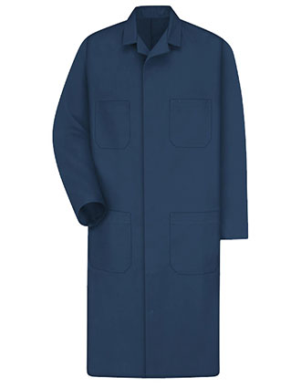 RE-KT30NV-Red Kap Men's 43.75 Inches Navy Shop Coat
