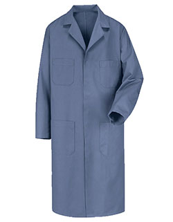 Red Kap Men 43.75 Inches Postman Blue Shop Coat
