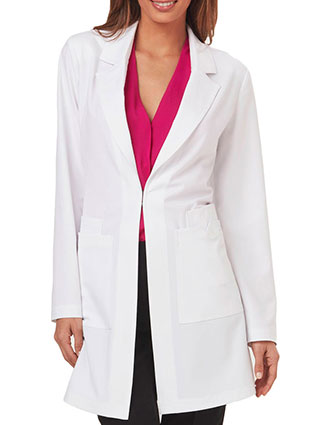 SA-SA400A-Sapphire Luxury Women's 34 Inches Milan Color Labcoat