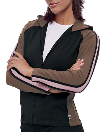 UR-C9524-Clearance Sale! Urbane Scrubs Women Atheletic Style Color Lab Jacket