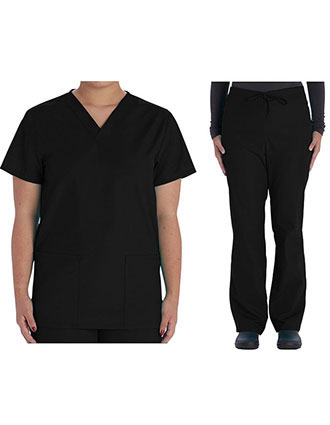 VI-VT508C-Vital Threads Unisex V-Nevk Scrub Sets
