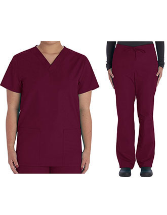 VI-VT509C-Vital Threads Unisex V-Nevk Scrub Sets