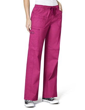 WI-5108-WonderWink WonderFlex 31 Inch Women's Faith Cargo Nurse Scrubs Pants