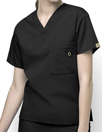 WI-6006-WonderWink 28.75 Inch Unisex The Alpha V-Neck Nursing Top