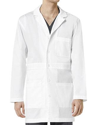 WI-702-Wonderwink 35.5 Inch Wonderwork Men's Basic Lab Coat