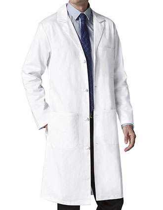 WI-7808L-WonderWink WonderLab Men's Professional Long Lab Coat