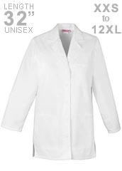 XL-1001-32 inch Multi Colored Women Short Lab Coat