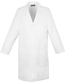 Three Pockets Long Unisex Medical Lab Coat