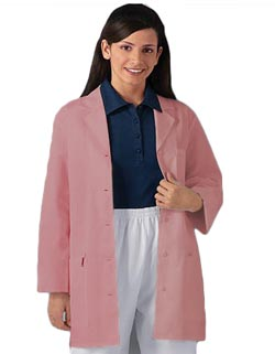 32 inch Multiple Colored Women Short Lab Coat