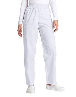 Adar 30 Inch Women Elastic Waist Cargo Scrub Pants