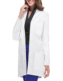 Cherokee 32 Inch Women's Antimicrobial With Fluid Barrier Twill Lab Coat