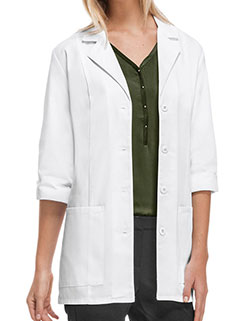 Cherokee 30.5 Inch Women's Three Quarter Sleeve White Lab Coat