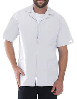 Cherokee 30.5 Inch Men's Three Pocket Zip Front Medical Scrub Jacket