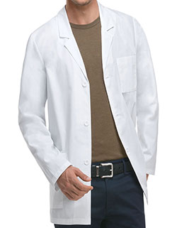 Dickies EDS 31 Inch Men's Antimicrobial Consultation Lab coat