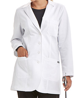 Grey's Anatomy Junior Fit 32 inch Lab Coat with Heartline Embroidery