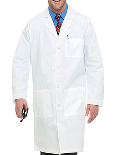 Landau 41.5 Inch Men's Full Length Medical Lab Coat