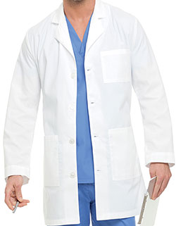 Landau 35 Inch Three Pockets Men Consultation Medical Lab Coat