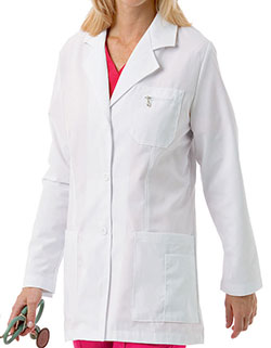 Landau 30 Inch Women's Two Pockets Professional Lab Coat