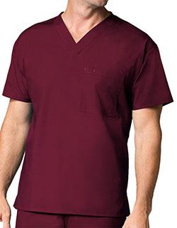 Maevn 28.75 Inch Core Unisex V-Neck Nursing Scrub Top