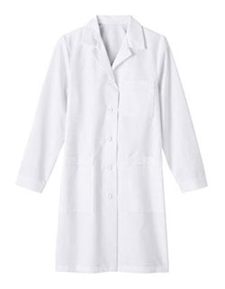 White Swan Meta 39 inch Nano-Tex Women Long Medical Lab Coat