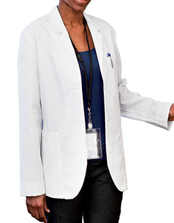 Meta 28 Inch Women's Multiple Pockets Consultation Lab Coat