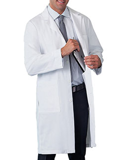 Meta 38 Inch Men's Five Pockets Lab Coat
