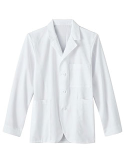 White Swan Meta Seven Pockets Unisex 30 inch Lab Coat