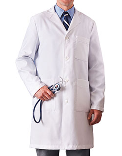 Meta 38 Inch Men's Xstatic Long Lab Coat