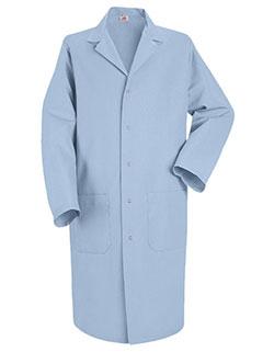 Red Kap 41.5 Inch Men's Notch Lapel Collar Medical Lab Coat