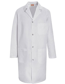 Red Kap 39 Inch Men's Two Pockets Staff Medical Lab Coat