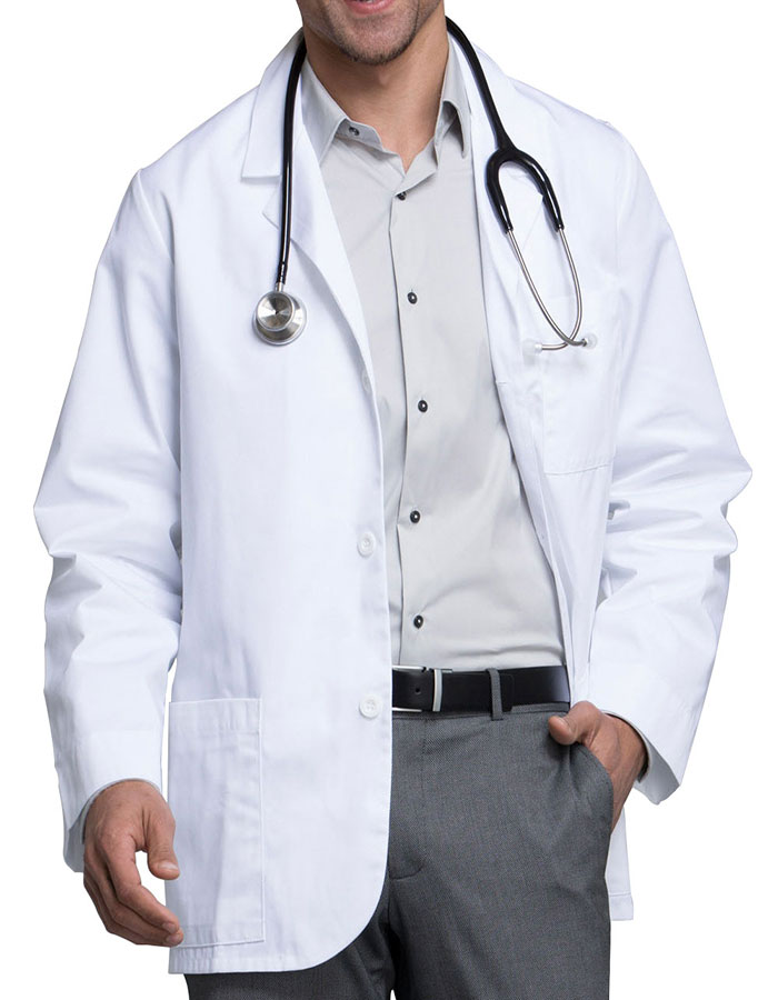 048c2805a CH-1389 - Cherokee Med-Man 31 Inch Twill Consultant Mens Medical Lab Coat