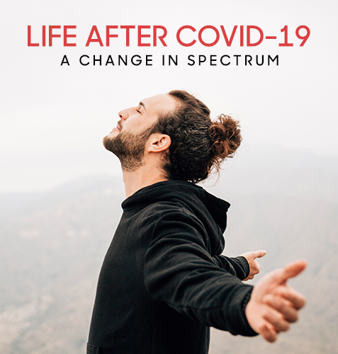 Life After COVID-19: A Change in Spectrum
